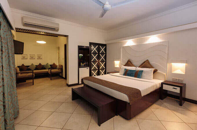 Affordable Hotel Room North Goa